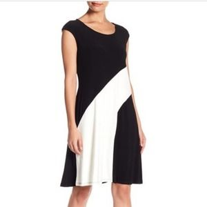 Tash + Sophie Color Block Sleeveless Dress 12